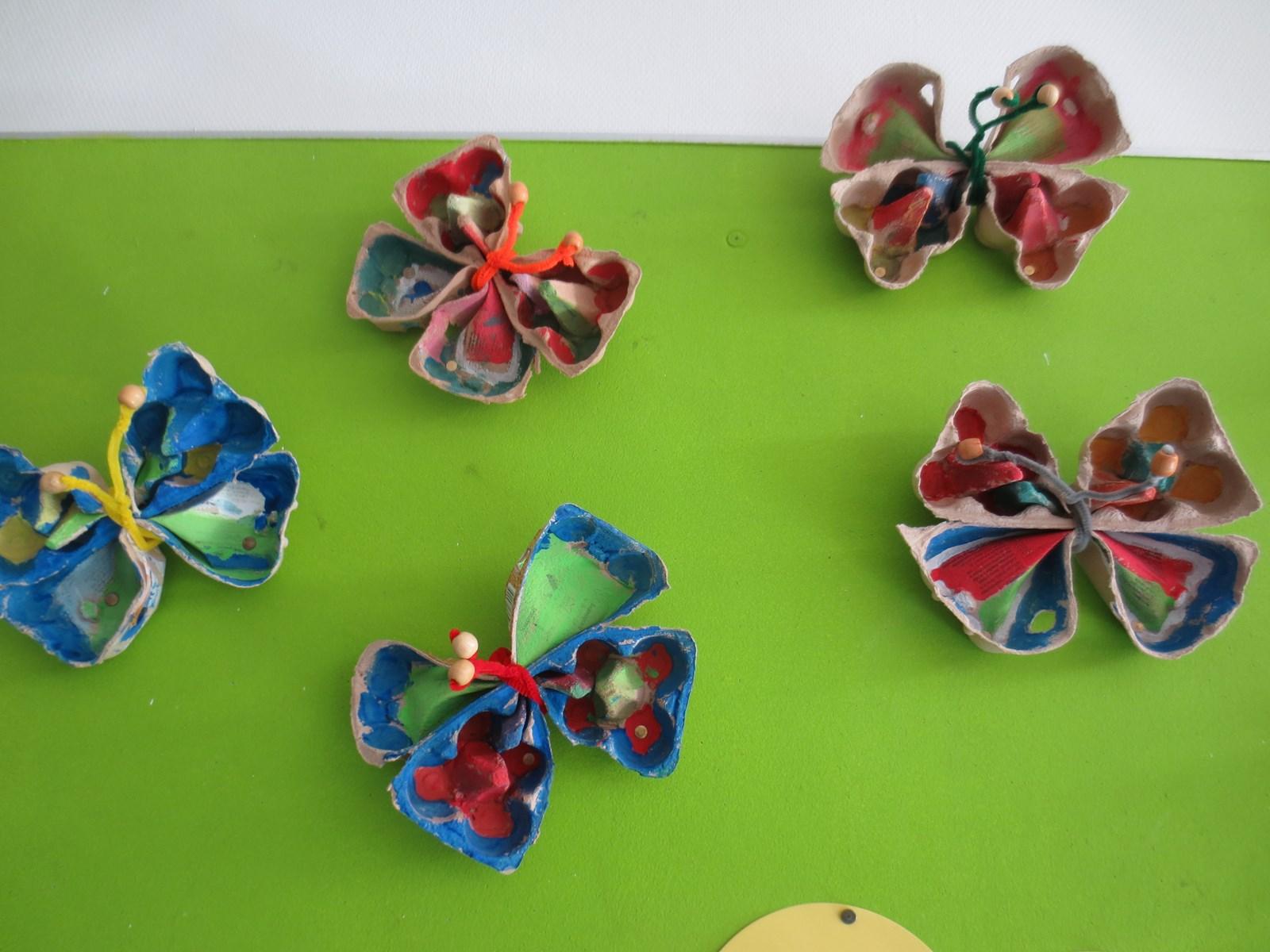 Genoeg Vlinders knutselen in groep 3 - Kindcentrum De Notenbalk  &EP83