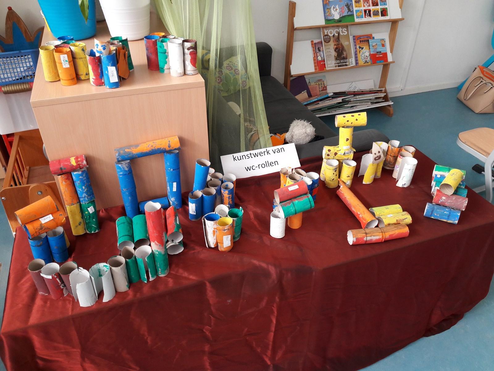 Super Project 'kunst' bij de kleuters. - Kindcentrum De Notenbalk MN-93